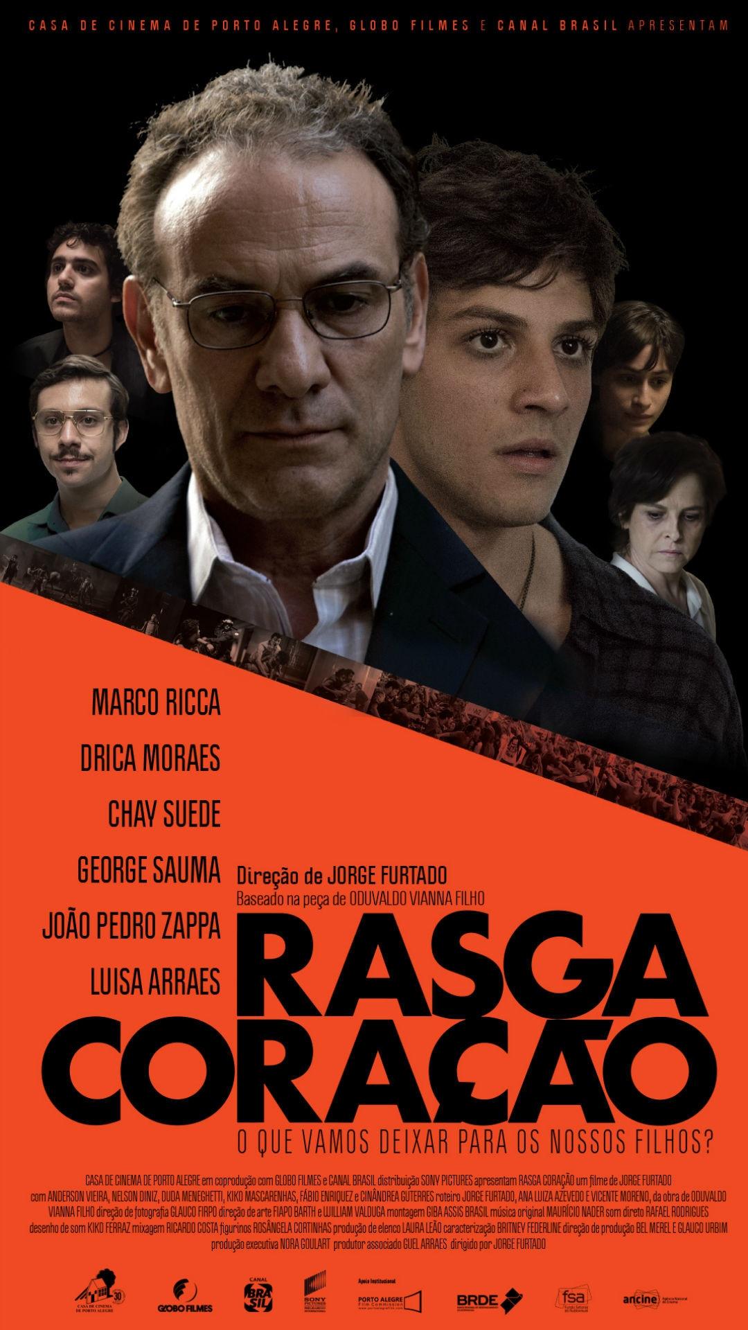 Chay Suede, Marco Ricca, Drica Moraes