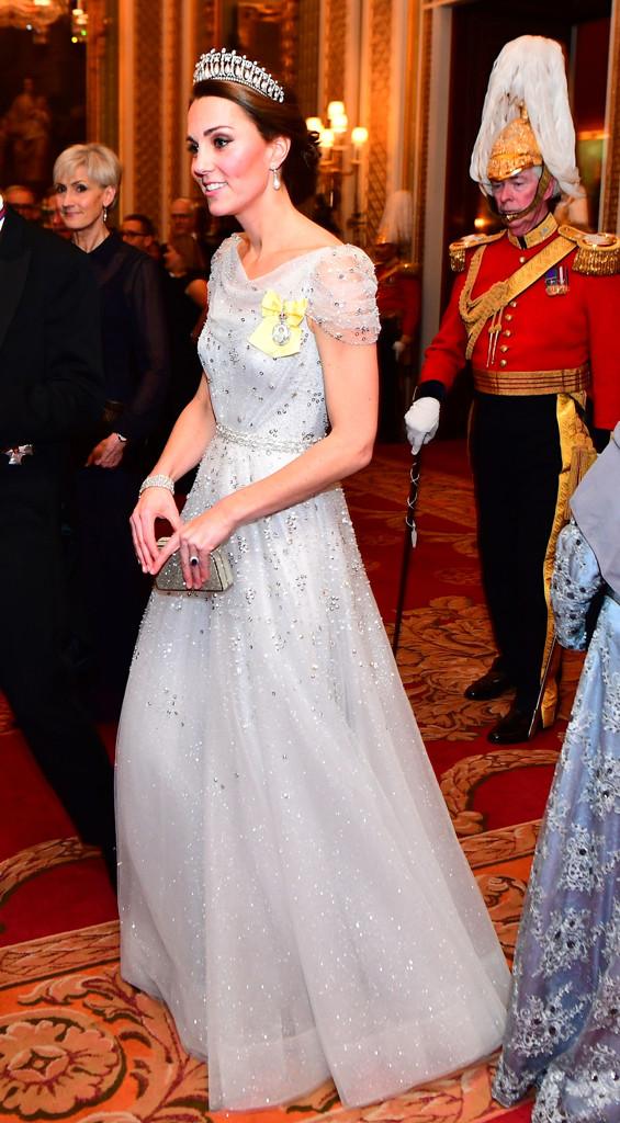 Kate Middleton, Duchess Catherine, Diplomatic Corps at Buckingham Palace