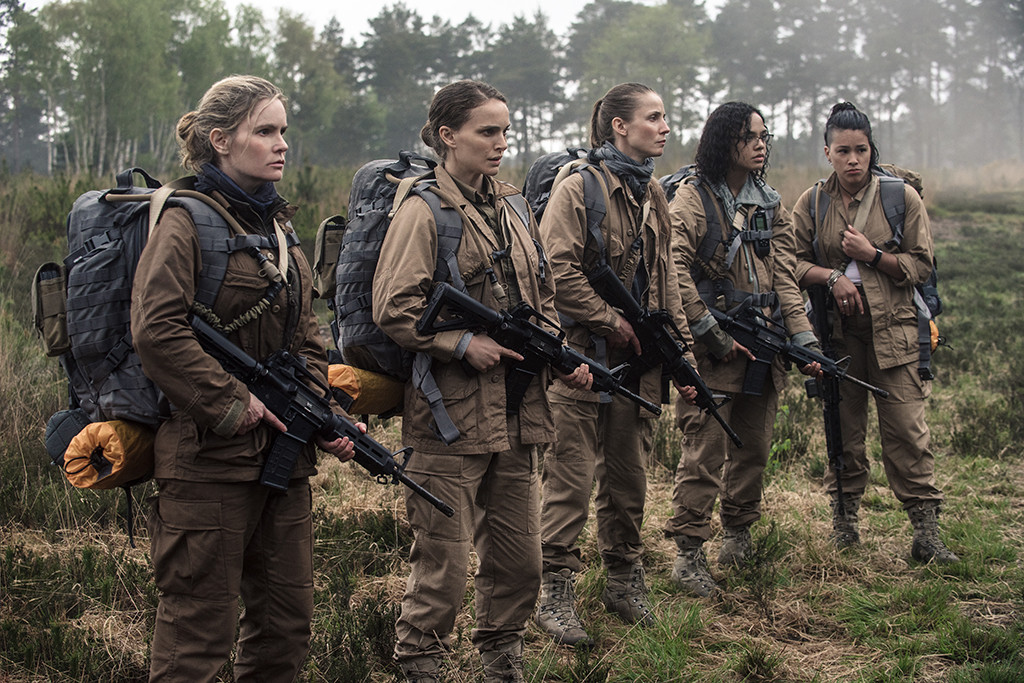 Gina Rodriguez, Jennifer Jason Leigh, Natalie Portman, Tessa Thompson, Tuva Novotnyin, Annihilation