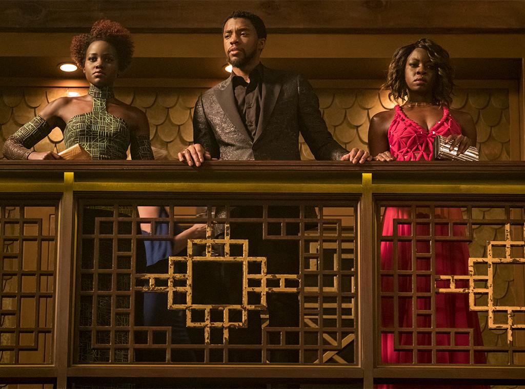 Black Panther, Lupita Nyong'o, Chadwick Boseman, Danai Gurira