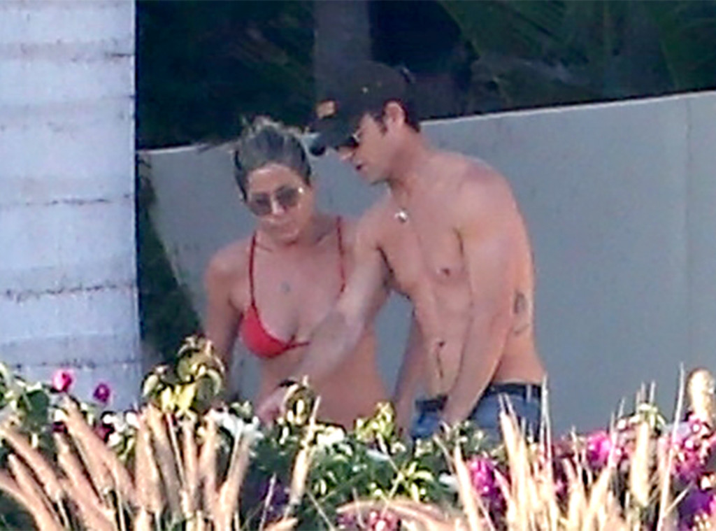Jennifer Aniston, Justin Theroux, Cabo 2017