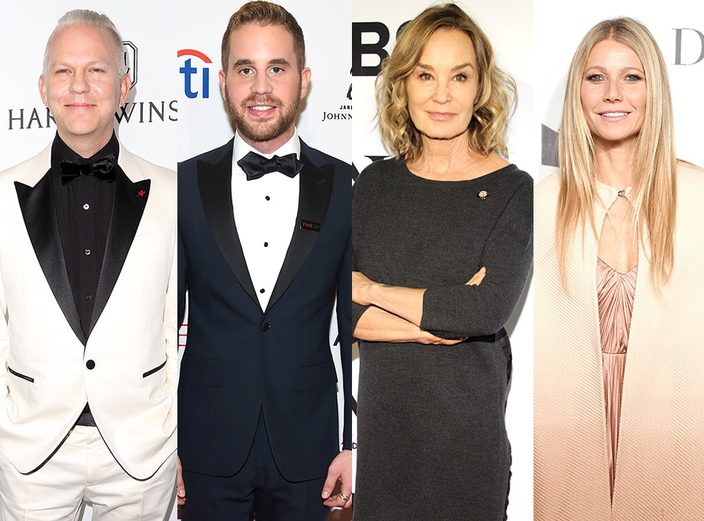 Ryan Murphy, Ben Platt, Jessica Lange, Gwyneth Paltrow