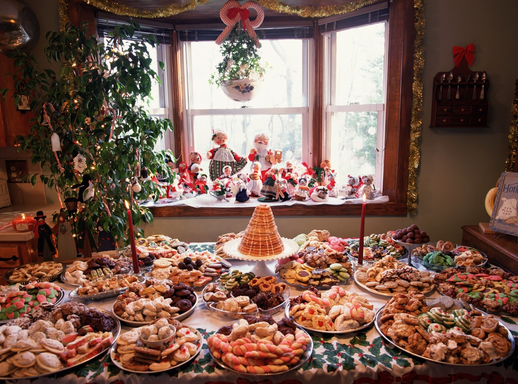 Christmas Food, desserts