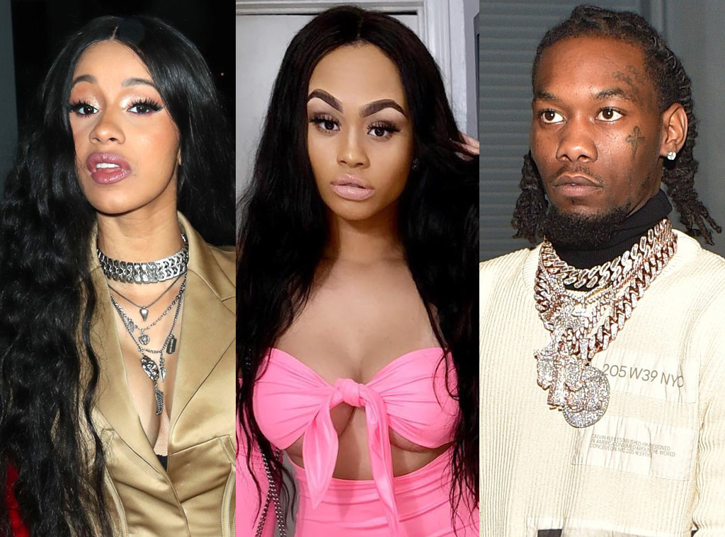 Is Cardi B S Offset Name Tattoo Real The Ink Is A Giant: Instagram Model Accused Of Coming Between Cardi B & Offset