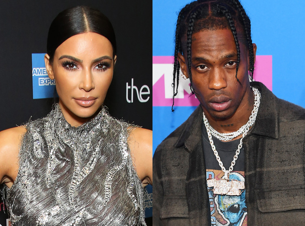Kim Kardashian, Travis Scott
