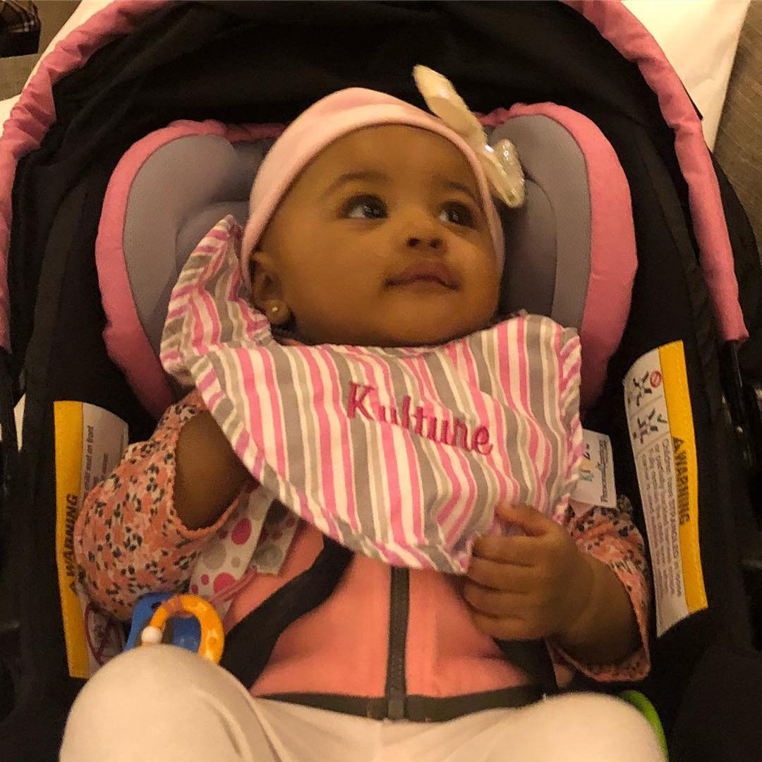 Cardi B Shares First Photo Of Daughter Kulture Hours After
