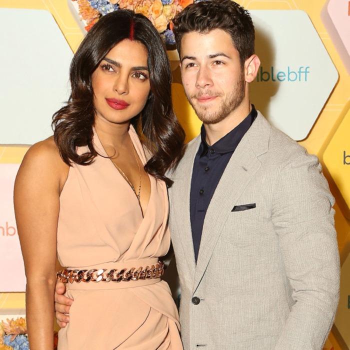 b96bec587 Priyanka Chopra y Nick Jonas asisten a su primer evento público como marido  y mujer