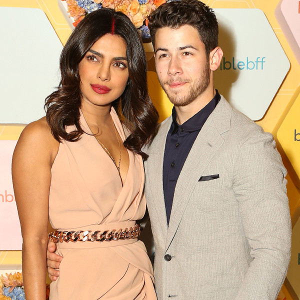 Nick Jonas, Priyanka Chopra, Bumble Event