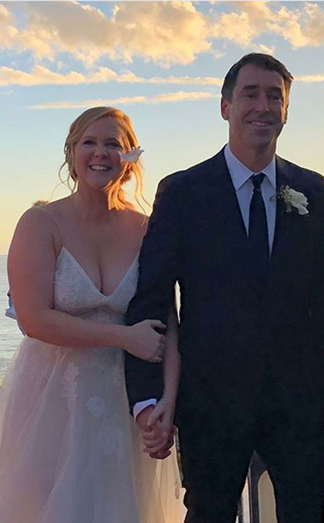Amy Schumer Dishes on First Few Weeks of Marriage It Feels F