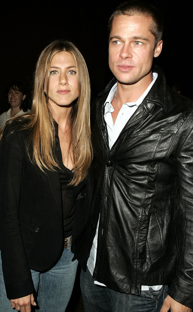 Brad Pitt & Jennifer Aniston -  It was the reunion that caught everyone by surprise. When the  Friends  star celebrated her 50th birthday, pop culture fans  freaked out  when her ex-husband showed up to celebrate.