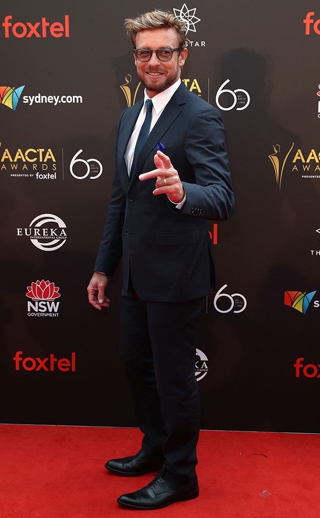 Simon Baker, AACTA Awards 2018