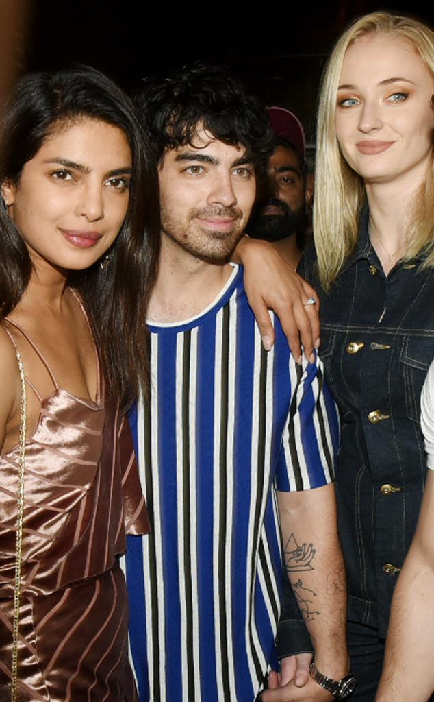 Priyanka Chopra, Sophie Turner, Joe Jonas