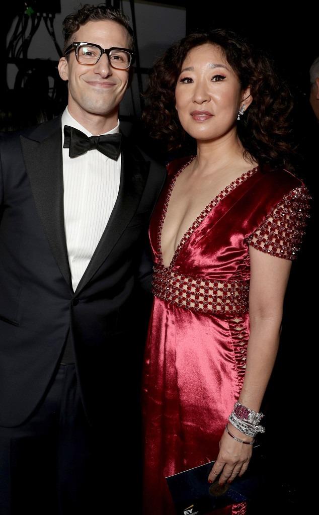 Andy Samberg, Sandra Oh
