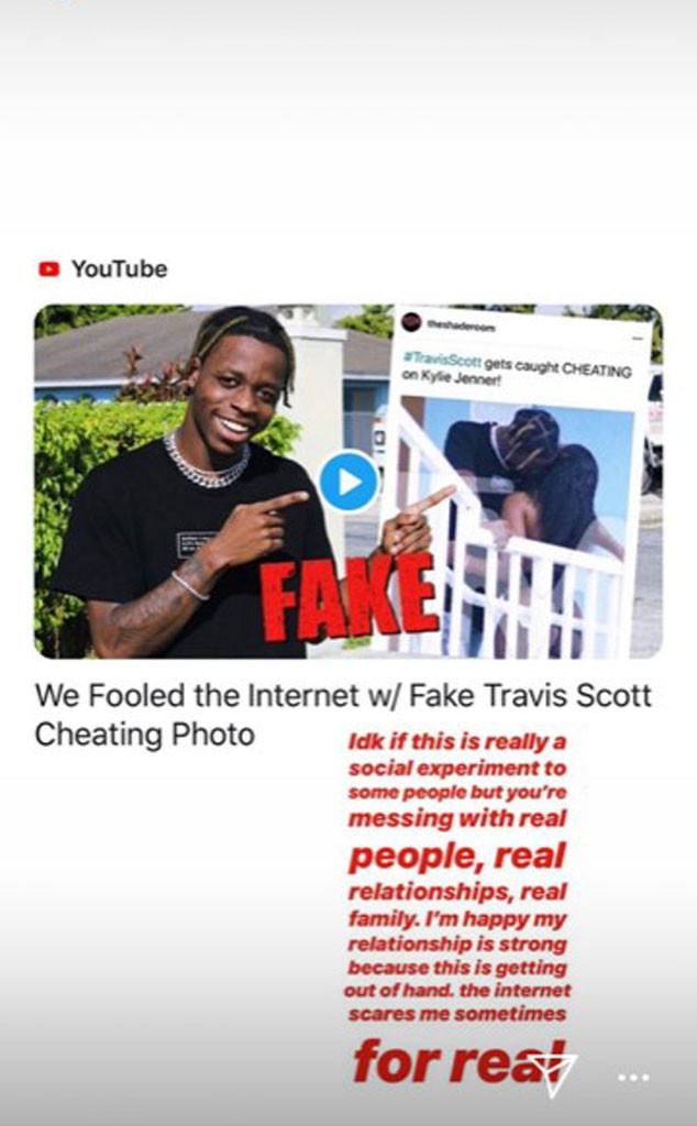 Kylie Jenner Slams Prank That Pulled Off Travis Scott Cheating Photo