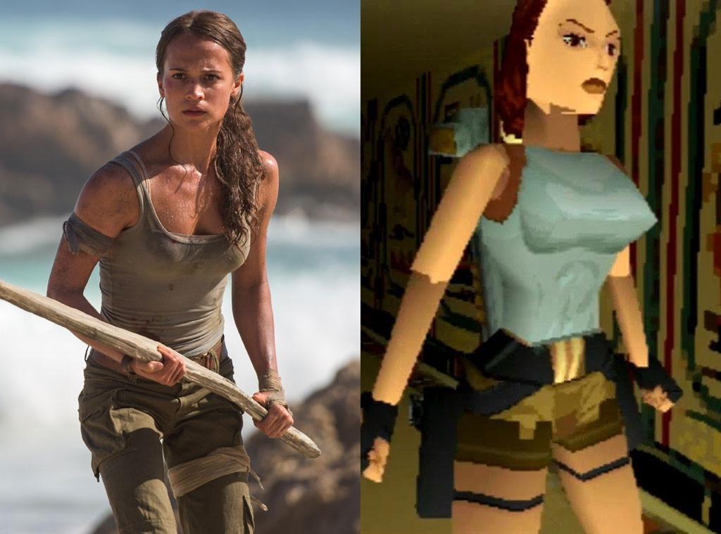 Alicia Vikander, Lara Croft, Tomb Raider