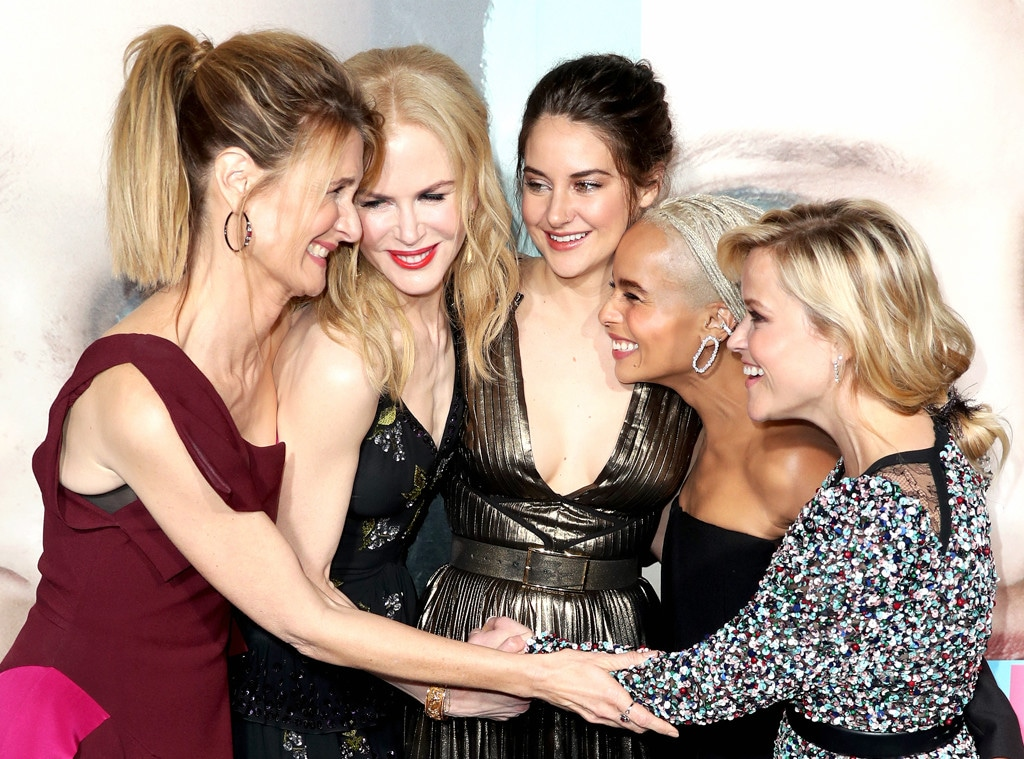 Laura Dern, Nicole Kidman, Shailene Woodley, Zoe Kravitz, Reese Witherspoon, Big Little Lies