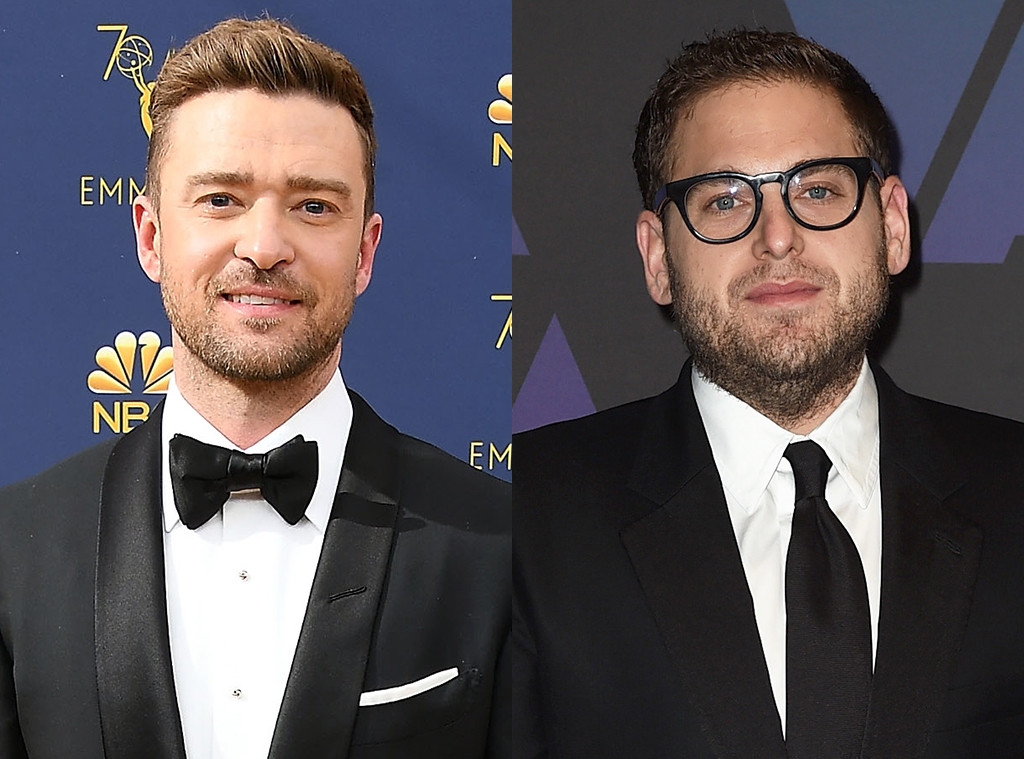 65292bfc198 Justin Timberlake Postpones the Rest of His 2018 Tour Dates—and Jonah Hill  Offers to Fill In