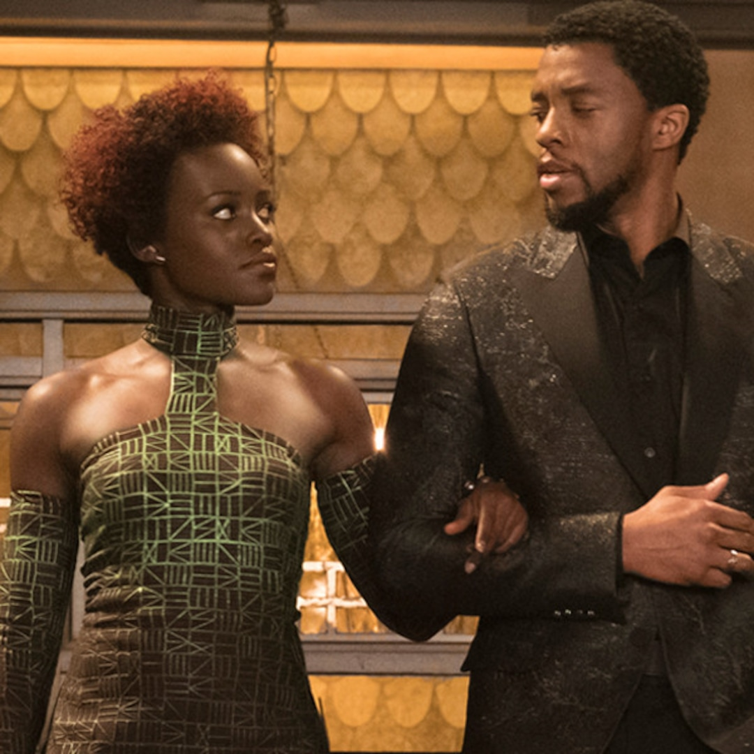 Chadwick Boseman And Lupita Nyong O Explain Their Magnetic Chemistry E Online
