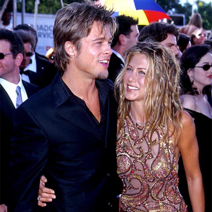d7ec1eaa961b Brad Pitt Attends Jennifer Aniston's 50th Birthday Party—See the Pics | E!  News