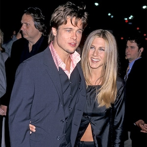 Brad Pitt, Jennifer Aniston, 1999 Fight Club Premiere