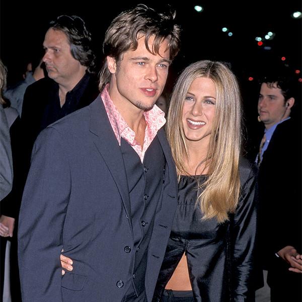 Brad Pitt, Jennifer Aniston, 1999 Fight Club Premiere