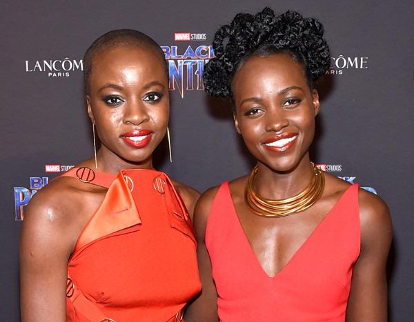 Black Panther S Lupita Nyong O And Danai Gurira Can T Stop