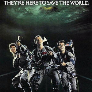 Ghostbusters, 1984, Poster