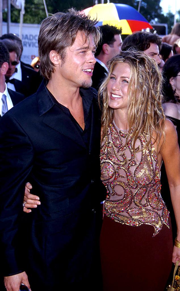 Brad Pitt, Jennifer Aniston, 1999 Emmy Awards