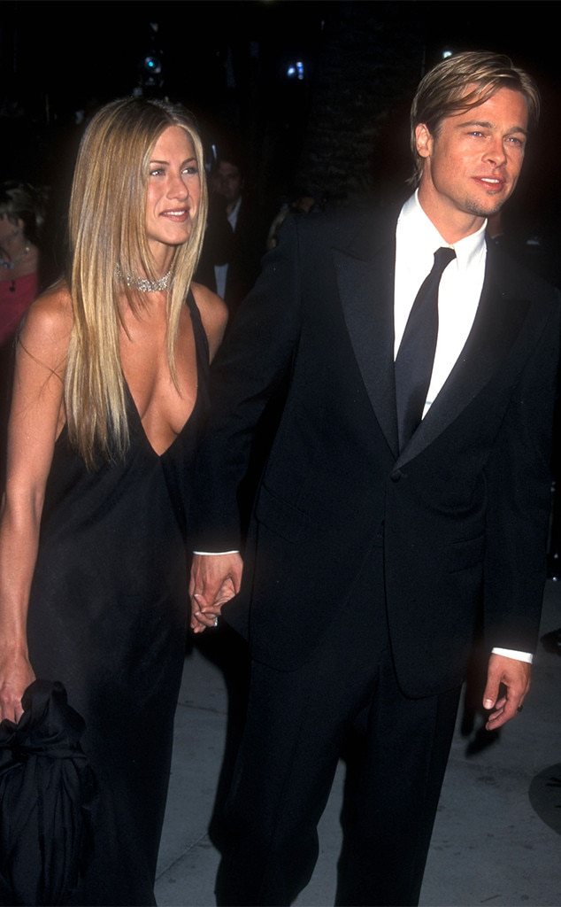 What year did brad and jen start dating