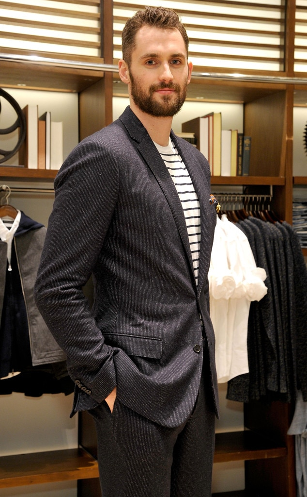 Kevin Love -  The NBA stud and style ambassador celebrates the BR/K.LOVE-18 Collection at  Banana Republic  in Los Angeles.