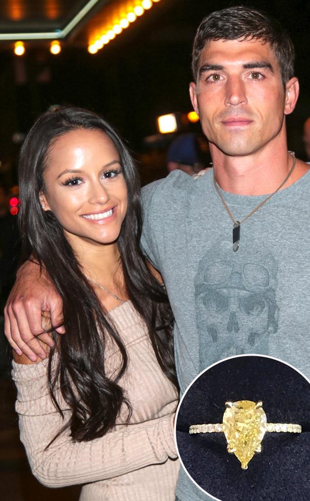 Jessica Graf, Cody Nickson, Engagement Ring