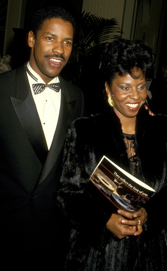 Denzel Washington, Pauletta Washington, Golden Globes, 1988