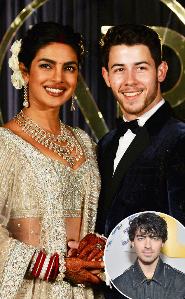 Joe Jonas Was Overwhelmed With Emotion At Priyanka Chopra And Nick