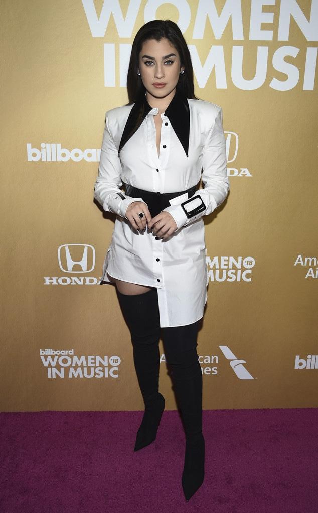 Lauren Jauregui, Billboard Women in Music 2018