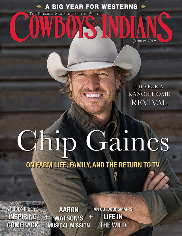 Chip Gaines, Cowboys & Indians Magazine, January 2019, Cover