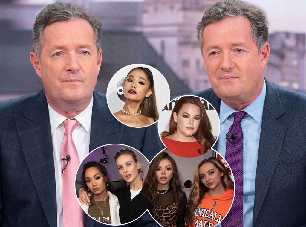 """Piers Morgan vs. Women -  Who hasn't Piers feuded with this year, to be honest? While he  took on  James Bond and Captain America over  Daniel Craig 's use of """"emasculating"""" use of a papoose to carry his newborn daughter and  Chris Evans ' decision to defend him in October, most of the newsman's Twitter feuds were with women, whom he had plenty of opinions on."""