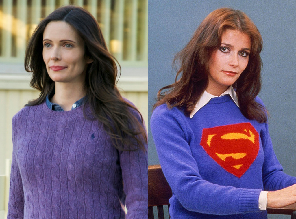 Bitsie Tulloch, Margot Kidder, Lois Lane