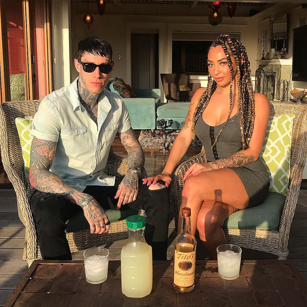 Trace Cyrus, Taylor Sanders