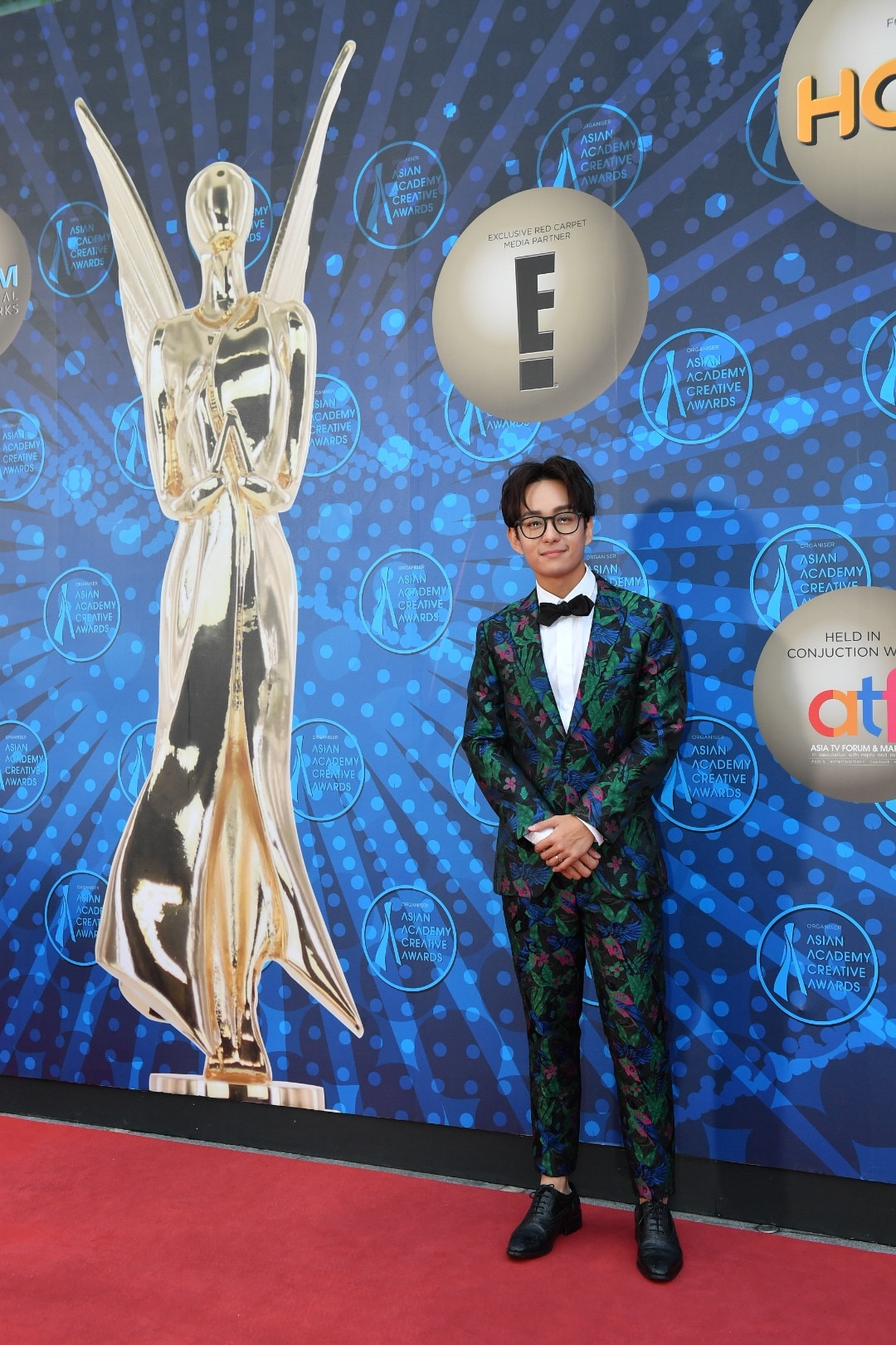 Jeremy Chan, 2018 AACAs Red Carpet
