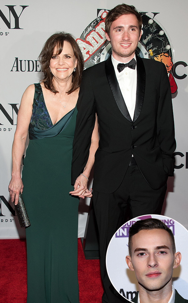 Sally Field, Sam Greisman, Adam Rippon