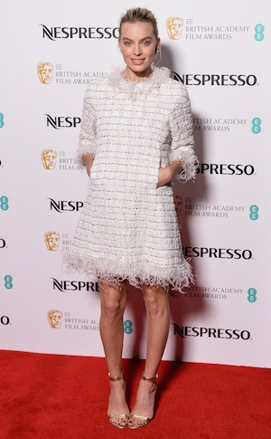 Margot Robbie, BAFTA Nominee Party