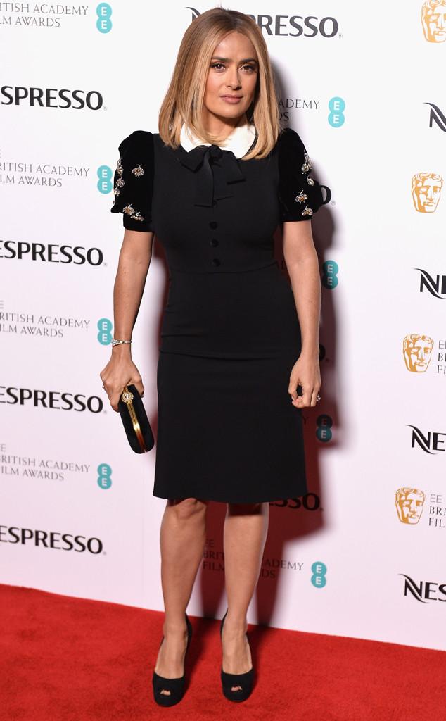 Salma Hayek, BAFTA Nominee Party