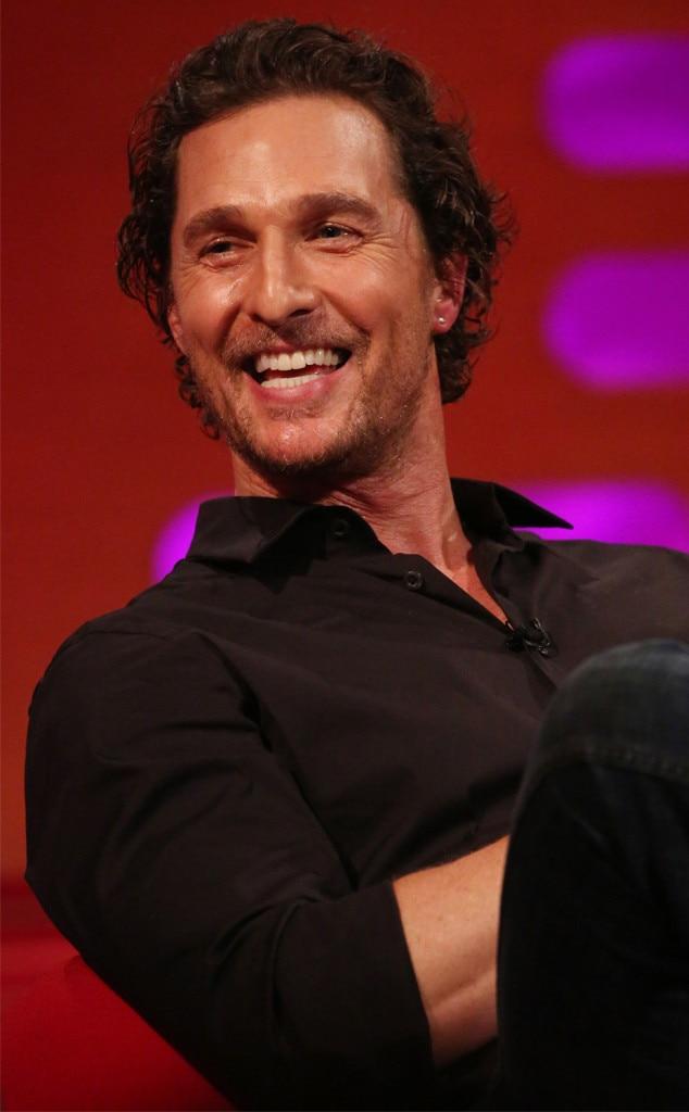 Matthew McConaughey -  Handsome!