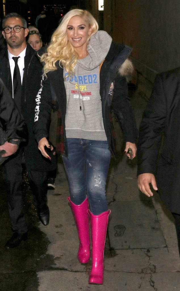 Gwen Stefani -  These boots were made for walking!