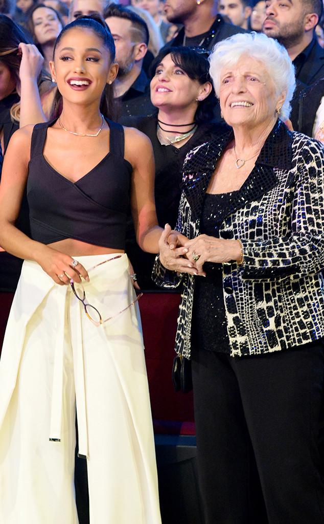 Ariana Grande, Marjorie 'Nonna' Grande