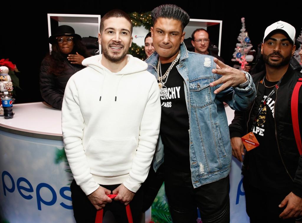 Vinny Guadagnino, DJ Pauly D, Jingle Ball 2018