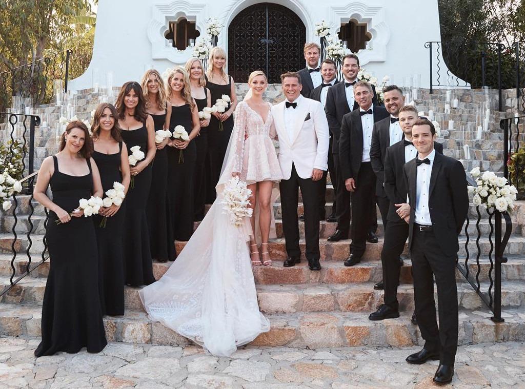 Karl Stefanovic, Jasmine Yarbrough, Wedding