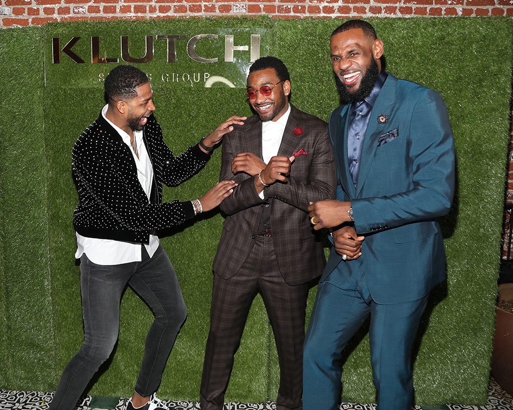 Tristan Thompson, John Wall and Lebron James, 2018 NBA All-Star Weekend Party