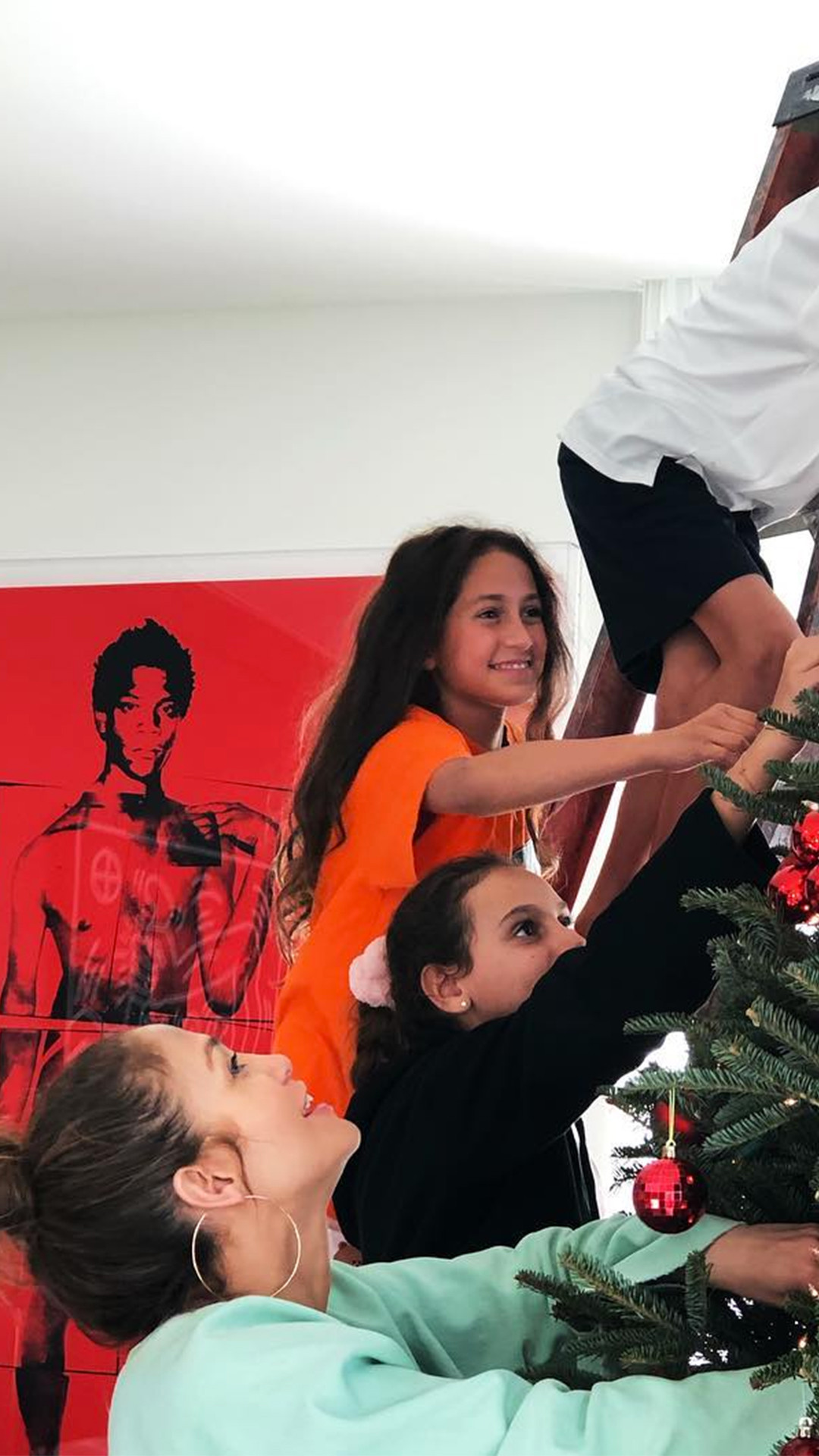 Jennifer Lopez, Twins, Max, Emme, Alex Rodriguez, Daughter, Natasha, Christmas 2018