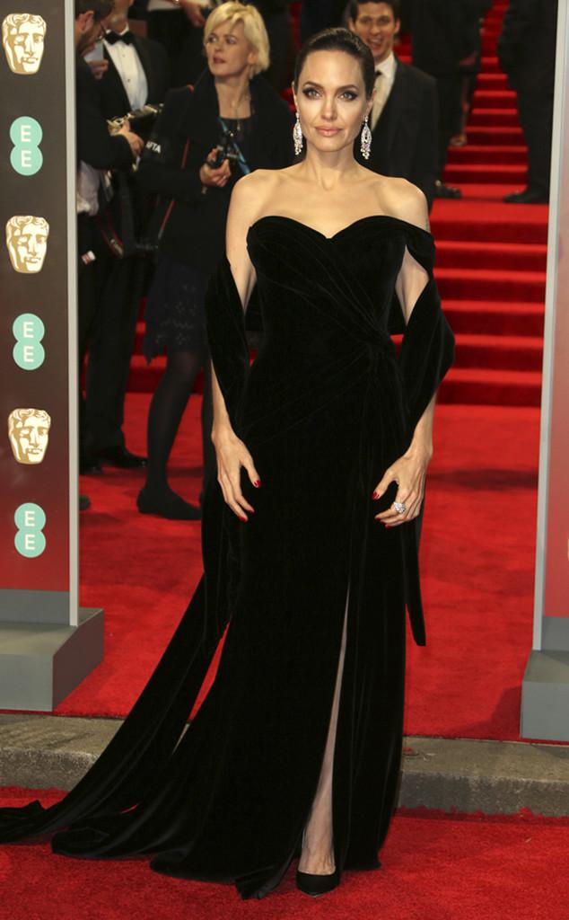 Angelina Jolie, BAFTAs, 2018